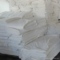 cotton polyester blended grey fabric