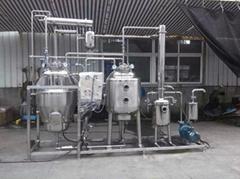 WZⅡ-500多功能熱回流全自動提取濃縮機組