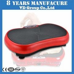 Hot sale vibration plate crazy fit super body shaper manual vibration machine