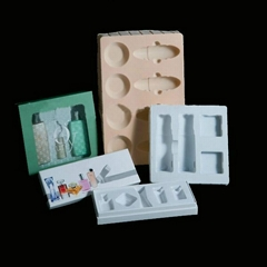 cosmetic blister packaging with dividers