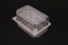 Transparent plastic Clamshell Packaging food grade