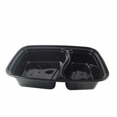 disposable plastic food tray