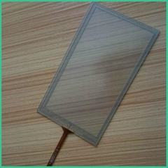 New arrival 4 wire and 5 wire resistive touch screen with cheap price