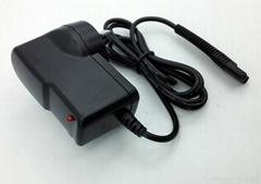 Lighter type US EU AU UK plug 5.9V 0.6a RAZOR HAIRCUT DEVICE BL -3 supply adapte