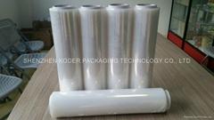 LLDPE stretch film pallet wrap plastic packaging film hand roll stretch film