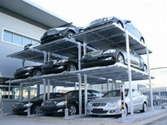 Three Levels Pit Parking Lift System with CE