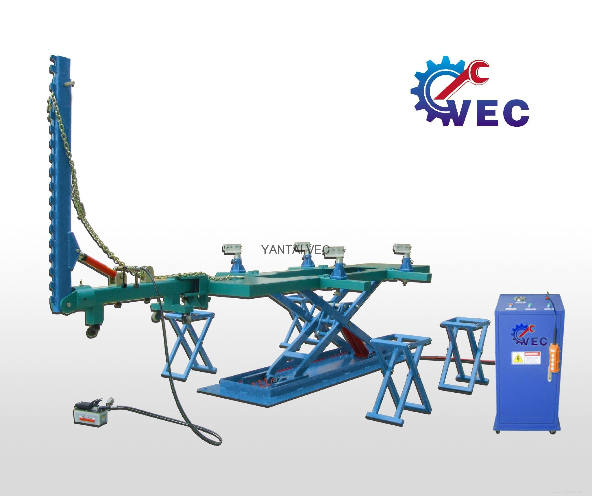 Factory Auto Body Collision Repair Frame Machine with CE - V-8 - VEC ...