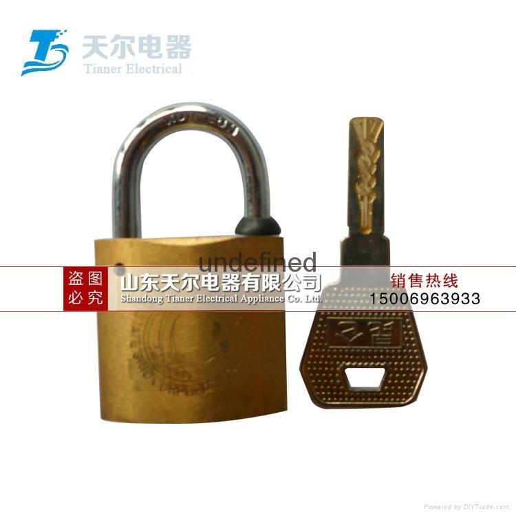 銅挂鎖怎麼使用 1