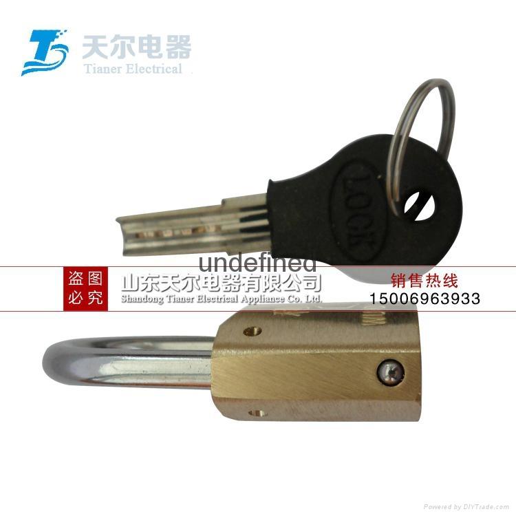 銅挂鎖怎麼使用 5