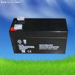 12v1.3ah maintenance free sealed lead acid battery