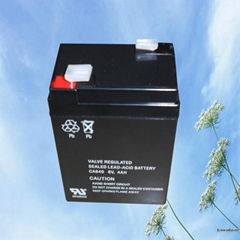 Valve-regulated sealed lead acid battery 6v4.5ah