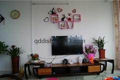 Korean Style Love Storage Rack Wall Shelf Wall Hanger Home & Wall Decor Creative