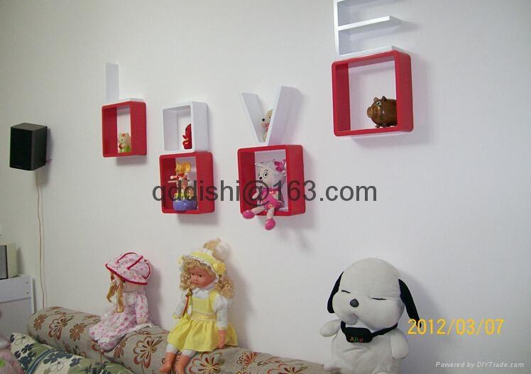 Korean style love storage rack wall shelf wall hanger home for Korean style home decor