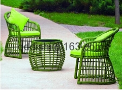 patio garden furniture rattan wicker outdoor sofa set