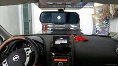 車規級智能語音控制后視鏡行車記錄儀