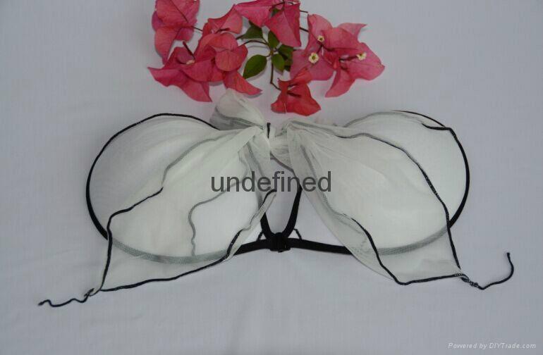 Hot cup semi wedding seamless bra under the thin thick dress sexy underwear 2