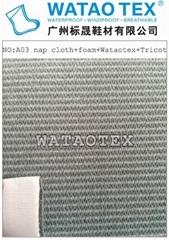 Comfortable and waterproof fabrics of
