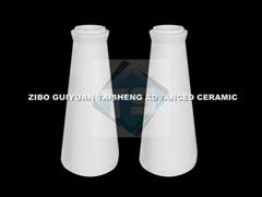 Alumina Ceramic Cone-shaped Tube for Cylone lining