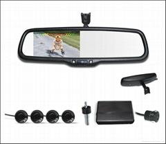 4.3  Inch Digital TFT LCD screen Video Parking Sensor