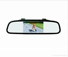 Reaview Mirror Monitor Video Parking Sensor