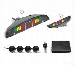 Digital LED Display Car Reverse Parking Sensor