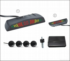Car Reverse Aid Parking Sensor with LED Display