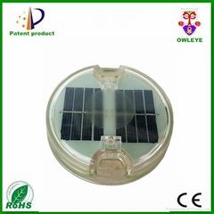 led embedded solar road stud,solar led underground light