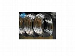 Ga  anized wire