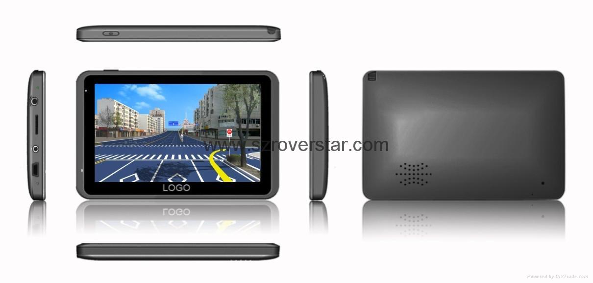 "Multifunction 5.0"" GPS Navigator with Bluetooth,AV IN,ISDB-T Optional 1"