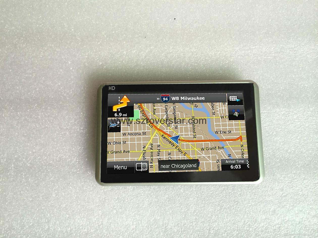 "Multifunction 5.0"" GPS Navigator with Bluetooth,AV IN,ISDB-T Optional 2"
