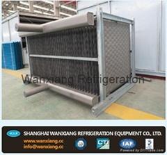 plate evaporative condenser