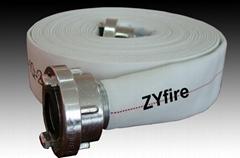 Fire hose (PVC/EPDM/PU/NR) Single jacket