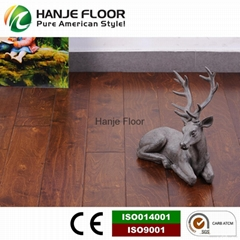Birch wooden flooring