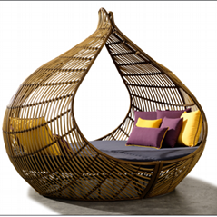 艺术装置休闲躺椅