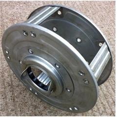 240mm x 76mm rolling shutter door part spring box
