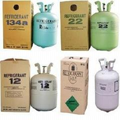 Refrigerant Gas R134A R22 R12 R11