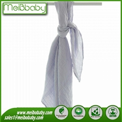 Muslin Cloth Fabric Baby Swaddle Wraps Baby Blanket