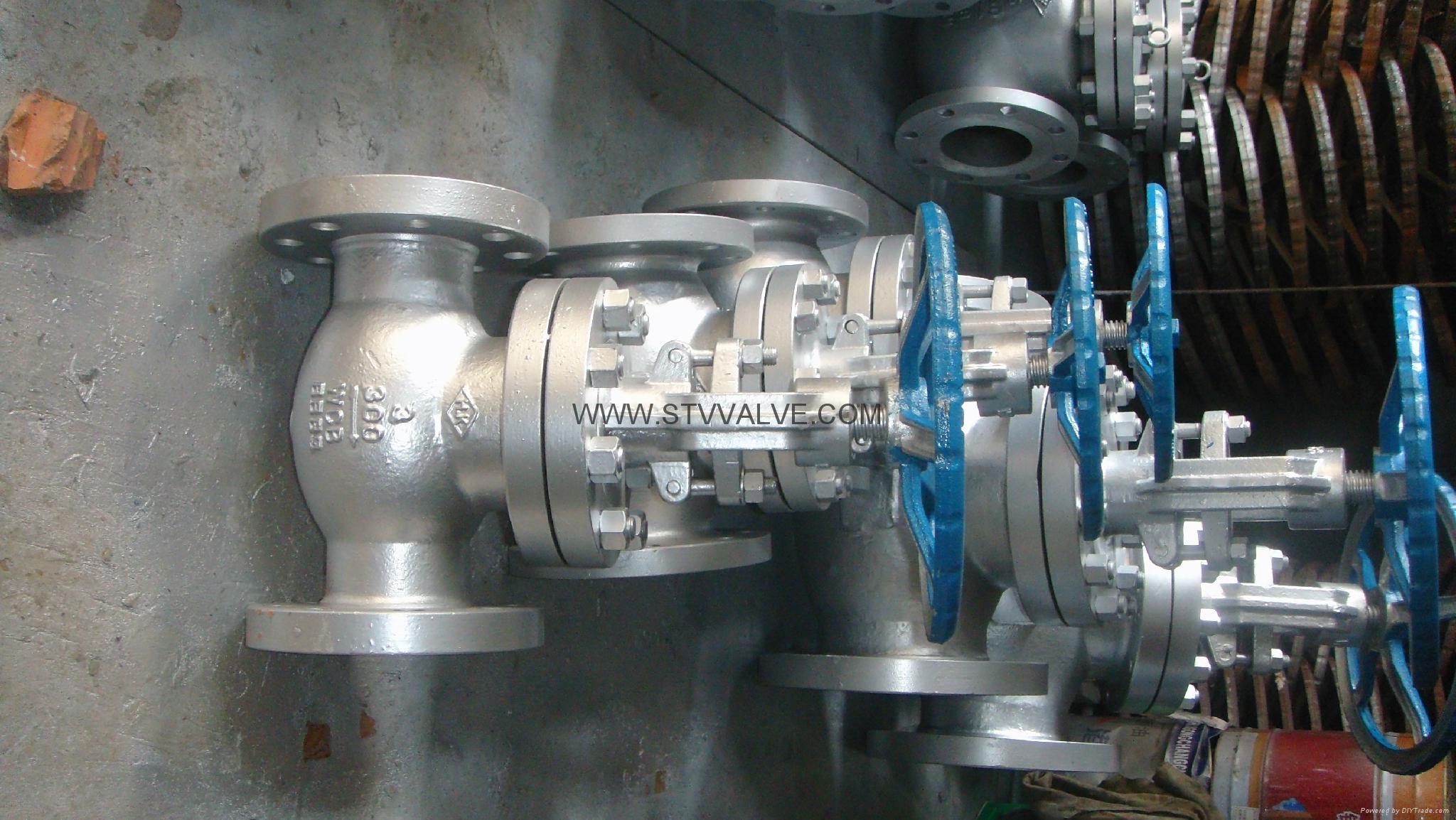 API/ANSI cast globe valve 7