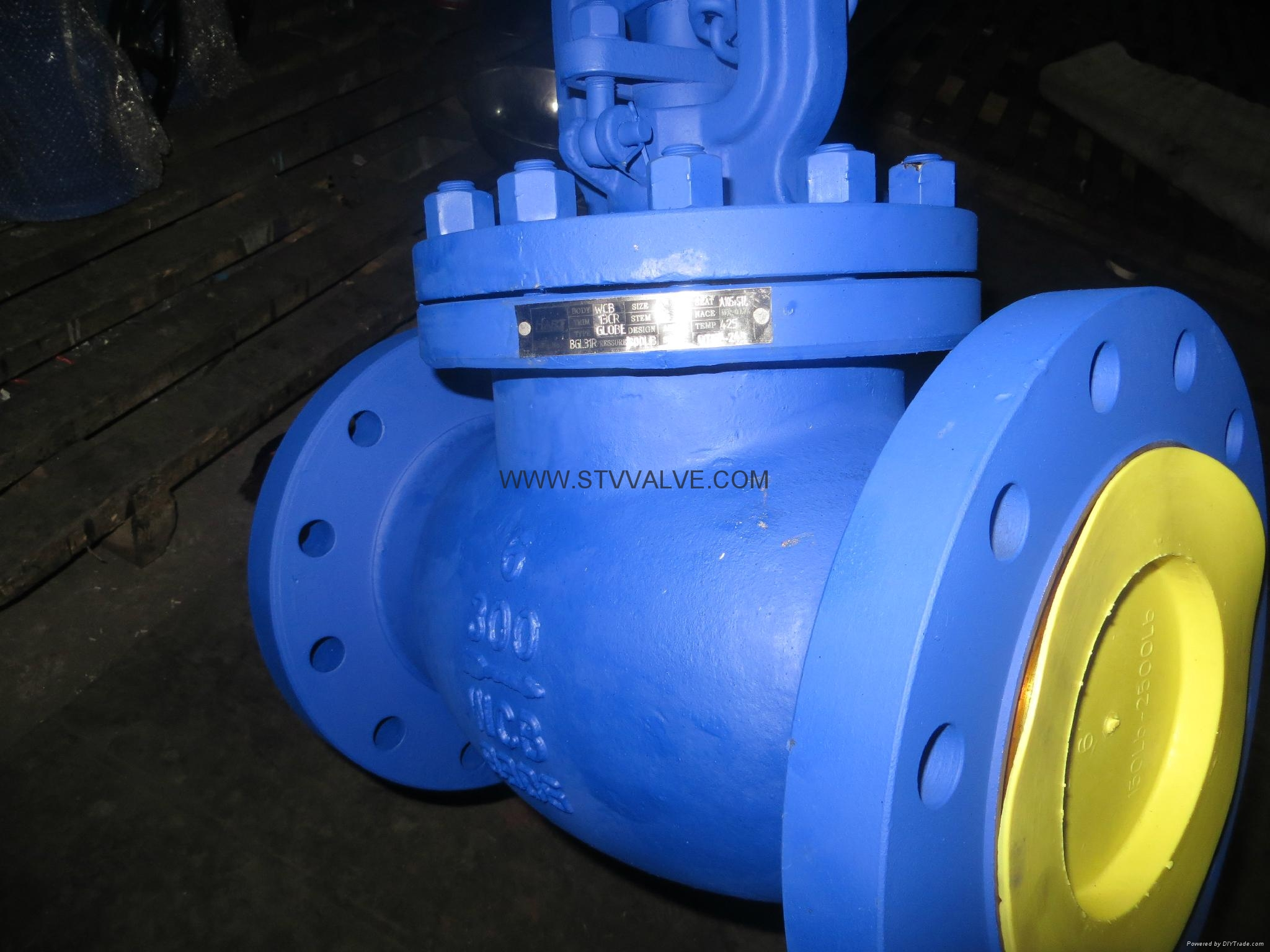 ansi bellows seal globe valve 3