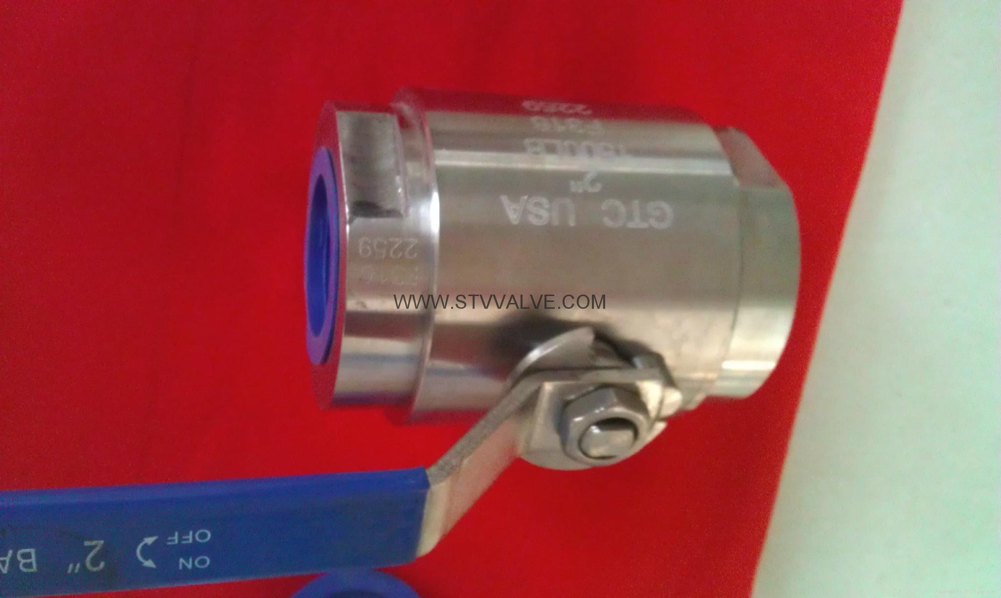 2pc Class 800 Forged ball valve 4
