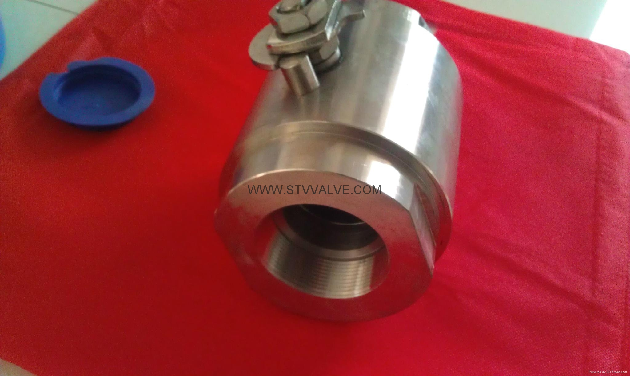 2pc Class 800 Forged ball valve 5
