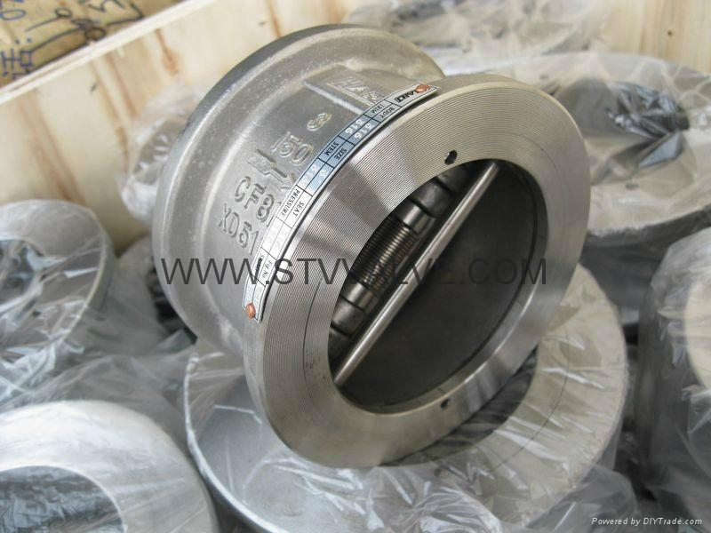 wafer Dual disc check valve 3