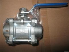 welded ball valve