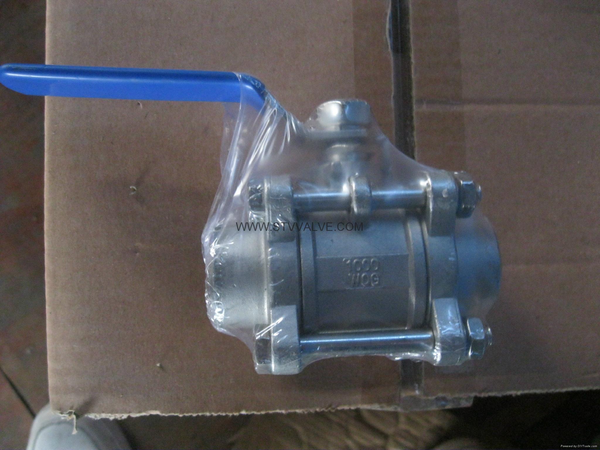 welded ball valve 4