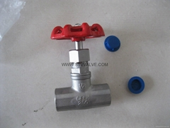 THREADED GLOBE VALVE(304,316)