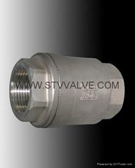 threaded swing check valve