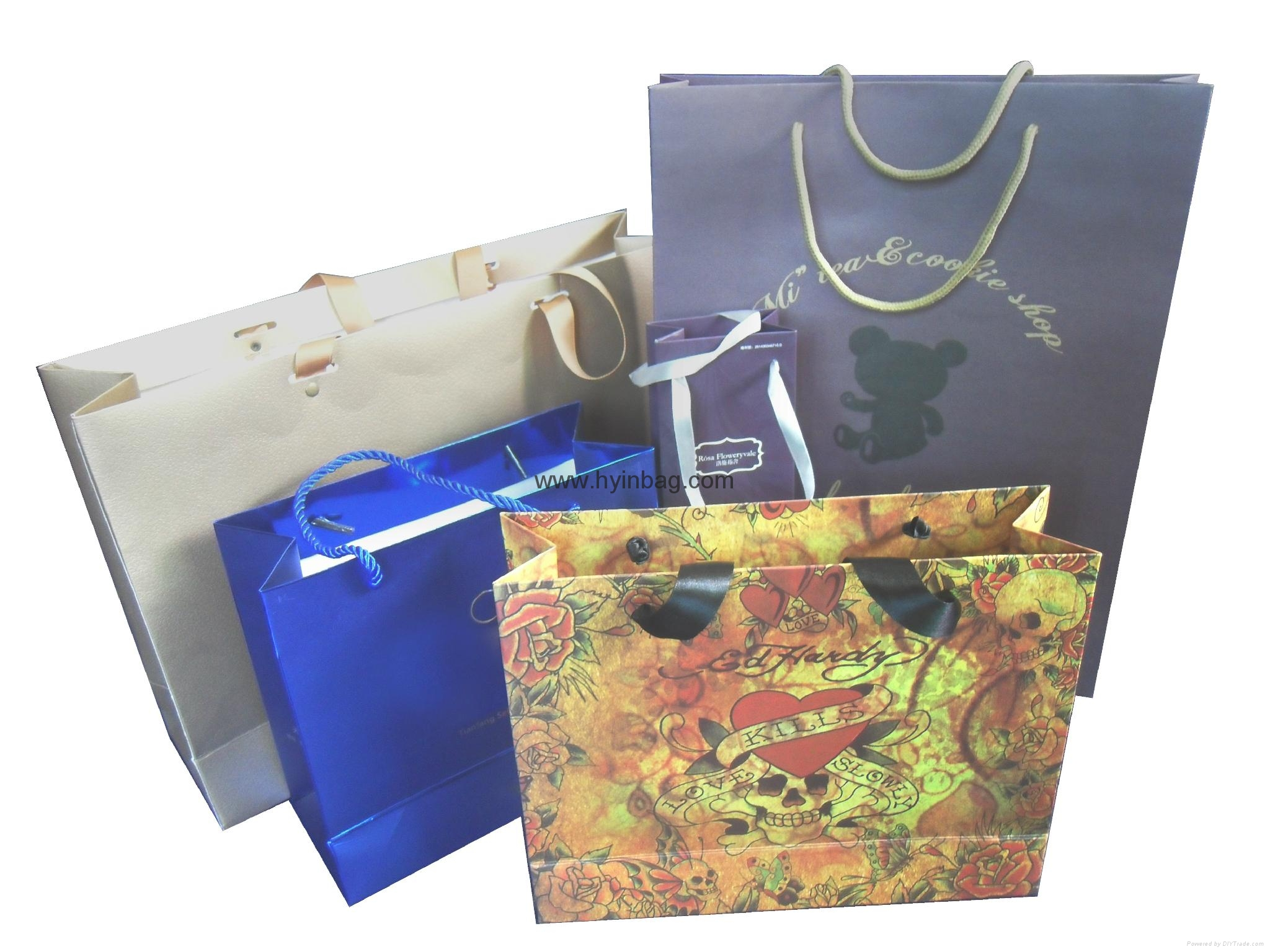 Paper bags with handles 1