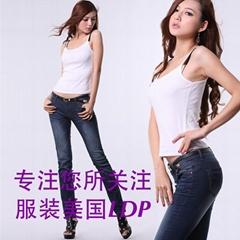 牛仔褲美國LDP