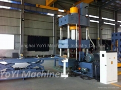 500 ton hydraulic press