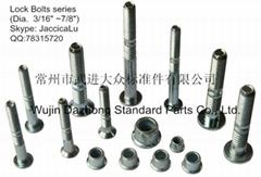 直径3/16-7/8钢质8.8级汽车及铁路用环槽铆钉